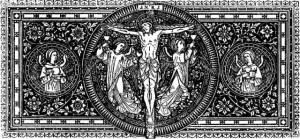 crucified-Our-Lord-Jesus-Christ-xylo-engraving-line-art